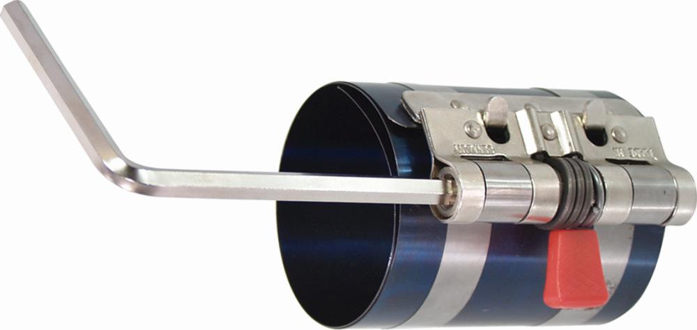 Napínací pás pre nasadenie pieksa , delené, 57-125 mm, 80 mm vysoké