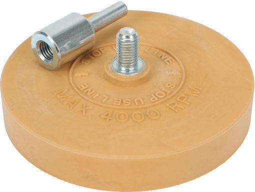 Rubber Eraser Pad, ø 90 mm