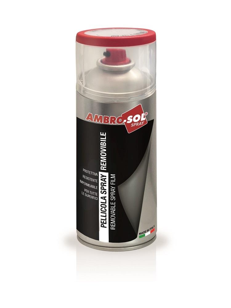 Odnímateľný sprejový film 400 ml matný aluminium 9006