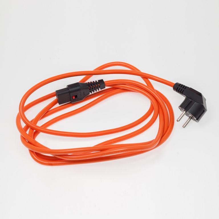 Powercord sieťový kábel norma EU -C13 IEC dĺžka 3,0 m