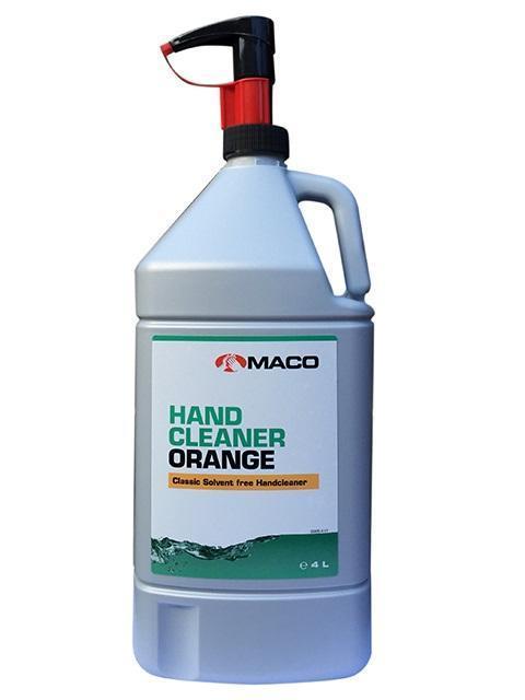 Čistič rúk ORANGE 4 L nádoba s pumpou