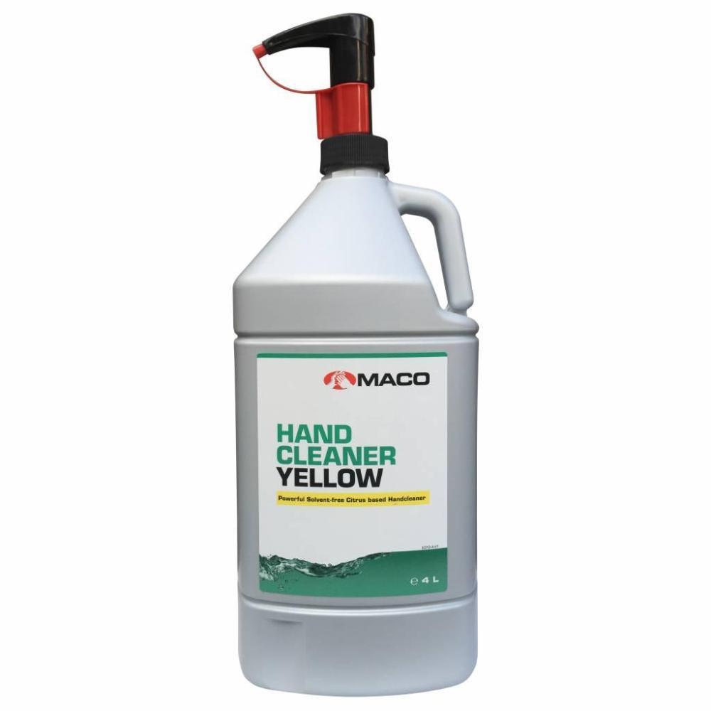 Čistič rúk YELLOW 4 L nádoba s pumpou